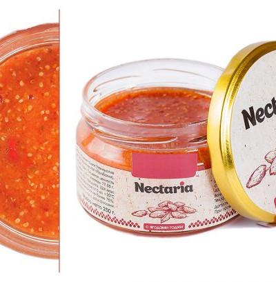 Взбитый мед Nectaria с ягодами годжи