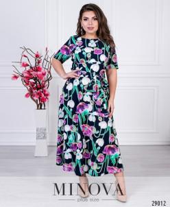 Платье №18-22-Темно-Синий