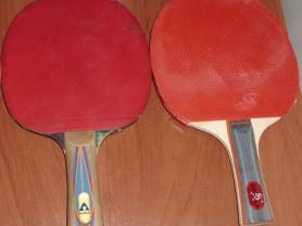 Ракетки для настольного тенниса б/у - 4 шт