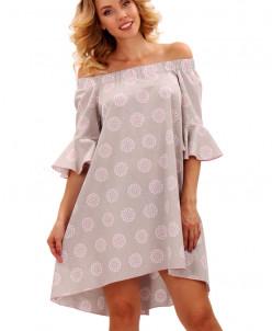 Платье 52-80 Номер цвета: 673