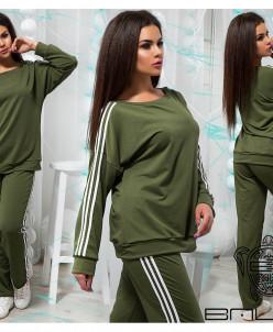 Стильный спортивный костюм - 21002