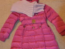 Пальто зимнее 134-140
