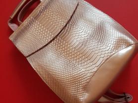 Новый кожаный женский  рюкзак