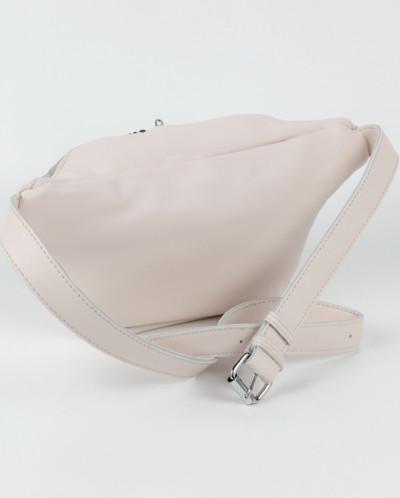 Женская кожаная поясная сумка