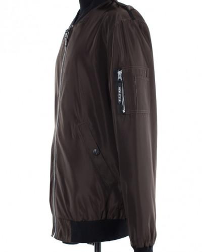 06-0218 Ветровка мужская Плащевка Светло-коричневый