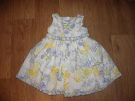 Платье с пышной юбкой (США) 3-4г.