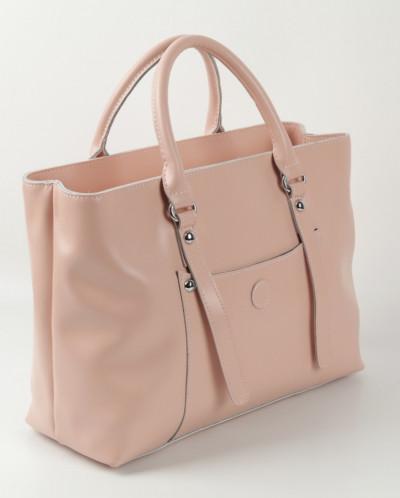 Женская кожаная сумка 88012 Пинк