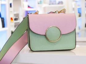 Новая элегантная сумка из сафьяновой кожи Италия