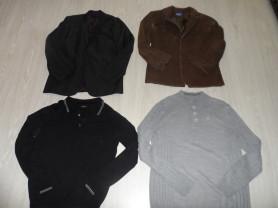 Фирменные джемперы пиджаки комплекты брюки р-р 48