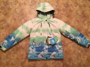 Теплая зимняя женская мембранная куртка COLUMBIA