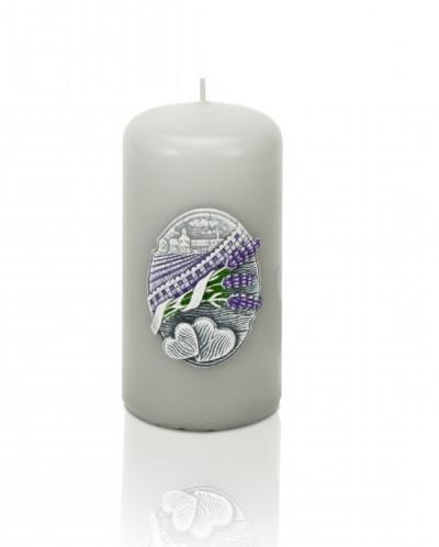 свеча Поцелуй Лаванды Колонна 50*100