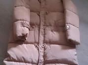 Пальто золотисто кремового цвета