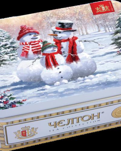 "Чай Челтон ""Снеговики"" 50гр. ж/б"