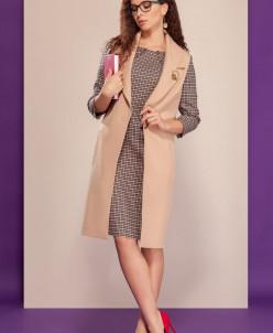 платье, жилет Dilana VIP Артикул: 1511