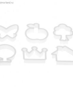 """Набор форм для печенья (набор 6 шт) """"Лето"""""""