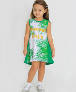 Платье детское Мексика (кулирка)