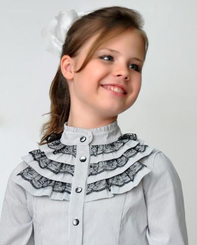 Детская Блузка Белая