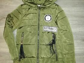 Куртка-парка р. 42, очень удобная, удлененная
