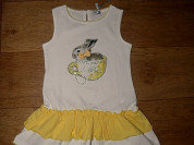 Платье с кроликом FUN&FUN на 2-3 года