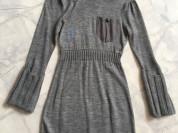 трикотажное платье, размер XS-S (42)
