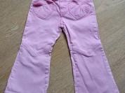 Джинсы розовые H&M, 4-5лет