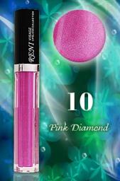 10 Блеск для губ Розовый бриллиант