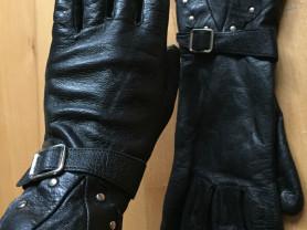 Кожаные перчатки, р-р 7,5