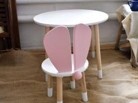 Детский столик + стул с хвостиком