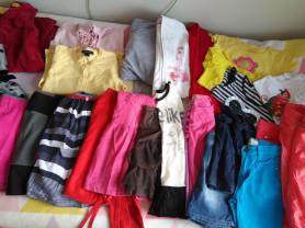 Одежда для девочки пакетом 122см 7-8 лет