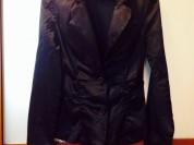 Пиджак xs - s атласная ткань