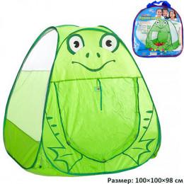 Палатка детская Лягушонок 100х100х98 см