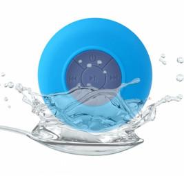 Водонепрониц. беспроводная Bluetooth колонка для душа голуба
