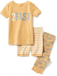 Graphic 3-Piece Sleep Set for Baby. ОЛД НЕВИ.