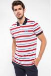 Çizgili Polo T-shirt