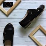 """Замшевые туфли """"монки""""."""
