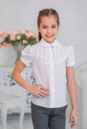 Блуза для девочки размер 146-72-69