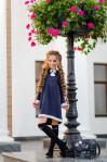 Школьное платье #369-