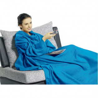 Плед с рукавами Snuggie – комфортное одеяло и халат 2 в 1