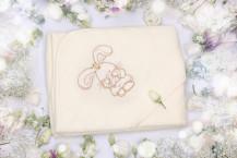 """Махровое полотенце с капюшоном """"Зайка"""""""