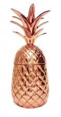 Zafos Pure Copper Pineapple Mugs - 20 oz Capacity ,100% Pure