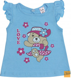 Блузка для девочки 1215-55-029-008