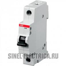 Автоматич.выкл-ль 1-полюсный S201 B6