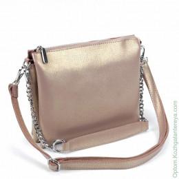 Женская кожаная сумка 105 Хаки