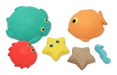 Sunny Patch Seaside Sidekicks Sand-Molding Set With 5 Animal