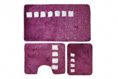 Roma Коврик 60*100 3 пр. (фиолетовый) акрил