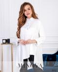 Рубашка №6169-Белый