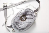 Поясная сумочка 1268_серый
