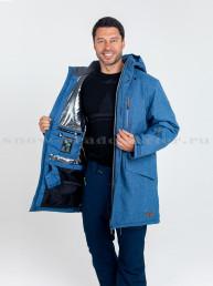 Куртка Snow Headquarter А-8529, голубой
