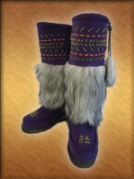 Унты канадские женские верх натуральный