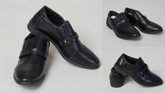 """Обувь детская 56007765-01 Туфли """"На резинки"""" Черные"""